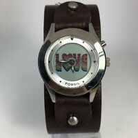 Fossil JR8260 Womens Wide Band Multicolor Animated Love Kaleido Analog Watch