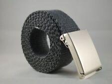 Cinture da uomo grigio taglia 100 cm