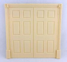 Melody Jane Dolls Houses Regency Double Door False 6 Panel Interior Resin 1:12