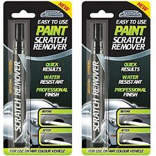 2 x Car-Pride Paint Scratch Remover Touch Up Repair Pen Any Colour Vehicle 7ml
