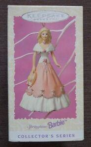 Poinçon Souvenir Noël Ornement Barbie Printemps Barbie 1997 - Neuf