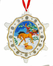 Breyer Buddies Christmas Ornament Winter in the Woods Horse Themed 2009