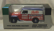 LIBERTY 1953 JEEP PANEL DELIVERY DIE-CAST METAL BODY 1/25 SCALE BANK (NEW)