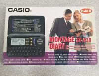 Casio MONTAGE Digital Diary SF-A30 64 KB PORTRAIT FUNCTION Calculator 5-Language