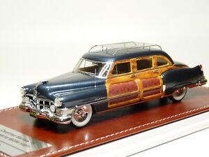 GIM Matrix 031a 1/43 1951 Cadillac Series 75 Schwartz MGM Resin Model Car