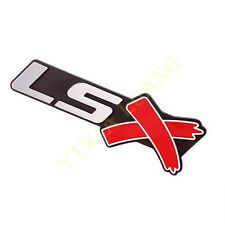 LSX Symbol Car ABS Side Emblem Body Badge Rear Sticker for Chevy LS