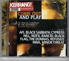 (GX696) Come Out And Play, 20 tracks various artists - Kerrang! CD