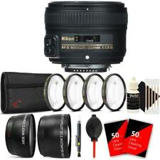 Nikon AF-S NIKKOR 50mm f/1.8G Lens and Accessory Kit For Nikon D7000 , D7100