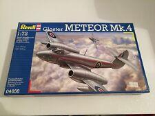 KIT DI MONTAGGIO REVELL 04658 1/72 GLOSTER METEOR Mk.4 NUOVO MAI APERTO!!!