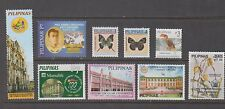 Philippine Stamps 2007 : 9 different Commemoratives & defintives, MNH