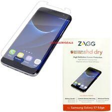 ZAGG Invisible Shield SCREEN PROTECTOR Galaxy S7 Edge mobile smart phone cover