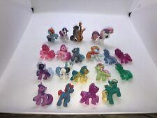 """MLP My Little Pony Friendship is Magic PVC Plastic Figures Lot Clear Sparkle 2"""""""