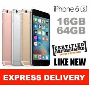 Apple iPhone 6s 16GB 64GB 128GB 4G Refurbished Unlocked A1688 Smartphone
