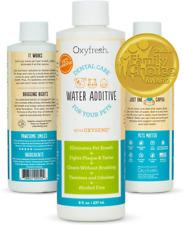 Oxyfresh Pet Oral Hygiene Solution Dog & Cat Water Additive For Bad Breath (8oz)