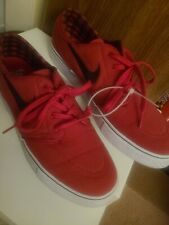 New listing Nike Mens SB Zoom Stefan Janoski Shoes Red 615957-601 Lace Up Sneakers size 11