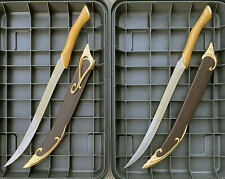 Licensed Lord of the Rings Fighting Knives and sheaths of Legolas Lotr Sword