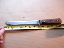"Vintage 8"" Blade CHICAGO CUTLERY 66S Knife walnut High-carbon stainless steel"