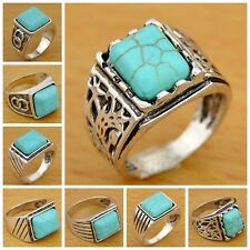 20pcs Lot Mixed style turquoise rings wholesale