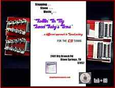 """Rollin' in My Sweet Baby's Arms""Pedal Steel Guitar E9th speed picking course"