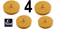 4 x PowerTec Pinstripe Toffee Caramel Wheel Sticker Stripe Removal Remover Tool