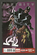 NEW AVENGERS #8 & #9 + INFINITY #1 1st cameo and full app of Black Order THANOS