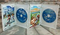 Nintendo Wii Video Game Bundle~ We Ski & Super Monkey Ball Banana Blitz Complete