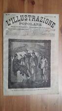 1873 Illustrazione Popolare: Il Giudizio di Paride Affresco Casa Procolo Pompei