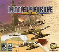BATTLE OF EUROPE 16 Historically Based Missions  Brand New PC Game  XP Vista 7 8