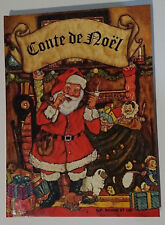 Conte de Noël Clément C. Moore Rouge et Or livre animé pop up Père Noël jouets