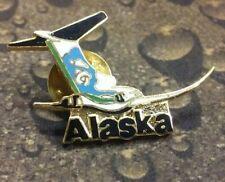 Alaska plane pin badge