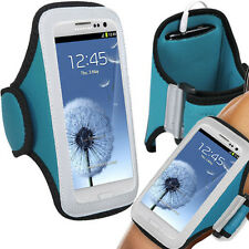 Sport Armband Jogging Workout Holder Case Blue For Apple iPhone 8 iPhone 7 6s 6