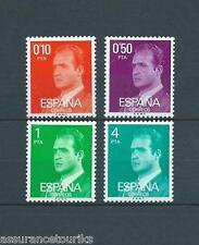 ESPAGNE JUAN CARLOS - 1977 YT 2032 à 2035 - TIMBRES NEUFS** LUXE