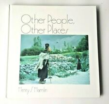 SIGNED Other People Other Places Henry Hamlin Art Photography Book Principia