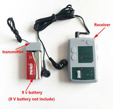 F908 Wireless receiver Ear Listening Device transmitter Bug Audio voice recorder