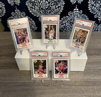 1990 Michael Jordan Fleer #26 🏀 5 Card PSA 10 Lot 🔥 Freshly Graded 💎 Set