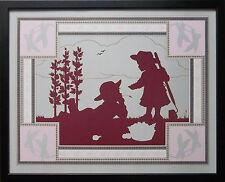 "Daryll Mackey stampa -20"" x16"" telaio vintage per bambini Wall Art"