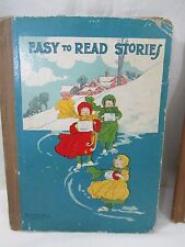 Vintage EASY TO READ STORIES, McLoughlin Bros. Inc. Springfield, MA c. 1900-1901