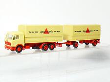 Herpa MB Mercedes Roadtrain Truck Apollinaris