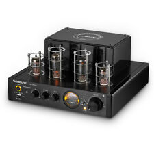 HiFi Vacuum Tube Amplifier Bluetooth Stereo Integrated Power Amp Headphone Amp