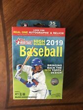 2019 topps heritage high number hanger box