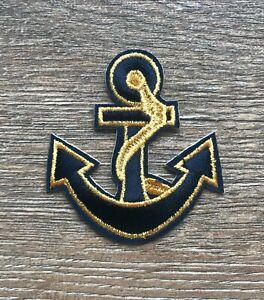 Anker Patch Aufnäher Marine