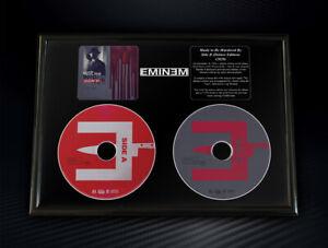 Framed Eminem - Music To Be Murdered By Side B Memorabilia