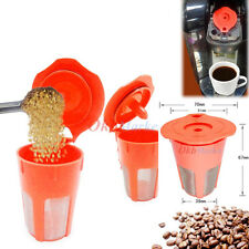 Keurig2.0 K-Carafe K-Cup Clever Refillable Reusable Coffee Filter Pod Replacemt