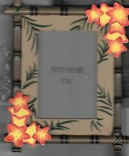 HAWAIIAN TIKI 6X4 PICTURE FRAME-BRAND NEW-MAKES GREAT GIFT/BAMBOO TIKI BAR