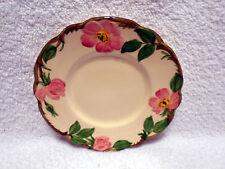 VTG Franciscan Desert Rose Bread Plate Black California USA Backstamp 1941-1958