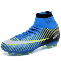 Men's Hi-Top Soccer Shoes Football Sneakers Soccer Cleats Fashion Soccer Boots