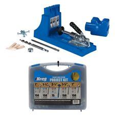 Kreg Jig K4 Pocket Hole Jig + Screw Kit Bundle