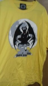Shadow Demon Coalition T-Shirt Yellow XL NEW RARE STOCK FIND