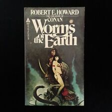 Robert E Howard - Worms Of The Earth - Ace Books -1979 Vintage Fantasy