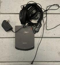 Sony Prd-650 Cd-rom Discman W/ Headphones